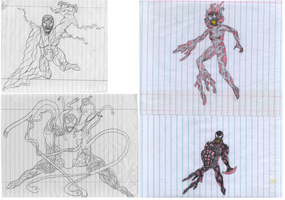 Carnage age 8 by holyguyver