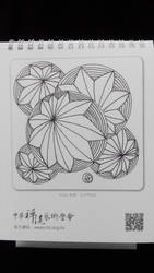 Mandala Calender 2016 Back Cover by LOVE-Mandala