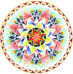 Mandala: Spring by LOVE-Mandala