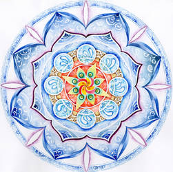 Mandala: Winter by LOVE-Mandala