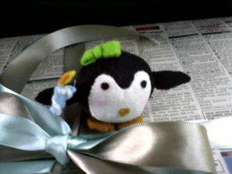 Pinguino con velitas by Pheir