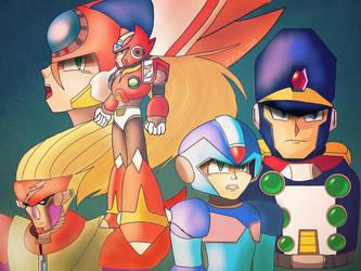 Mega Man X7 Tribute by ZeroFangirl-Mu