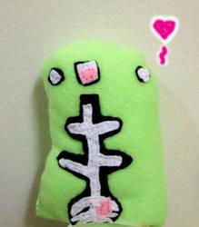 Skeleton Munstah Plush by AnimeChi