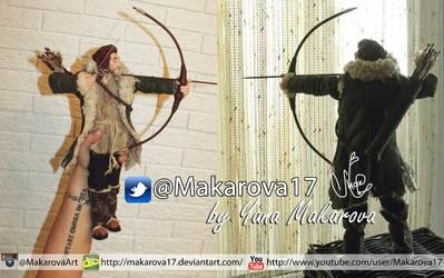 Luke Evans - Bard the Bowman by Makarova17