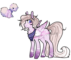 Cotton Pony[re-design] by Unknown-Artist99
