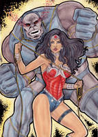 Wonder Woman Vs Darkseid by gregohq