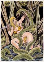 Junglegirl by gregohq
