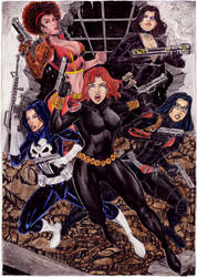 Guns Girls by gregohq