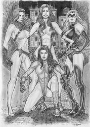 Power Girls by gregohq