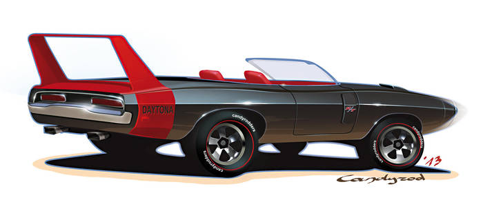 Hot Wheels Dodge Charger daytona by candyrod