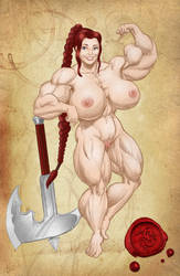 Zira Nude Study by SimonLMoore