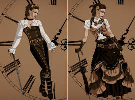 Steampunk by NadyaFireDancer