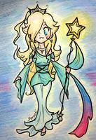The Galaxy Goddess by Derochi