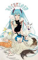 vo-CAT-loid by yooani