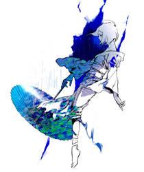 Blue Mame by yooani