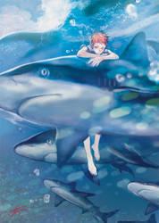 Akashi deep blue by yooani