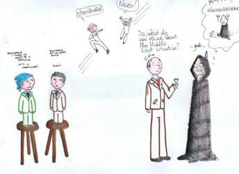 Dark Meeting number 2 by Carlota