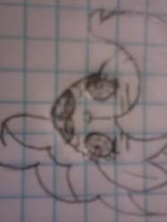 My hand-drawn Pinkie Pie megusta rage face by The1Zenith