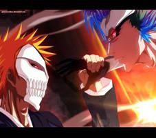 Ichigo vs Grimmjow - Collab by Akira-12