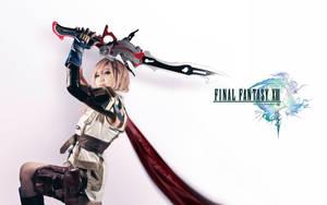 Final Fantasy XIII Lightning Farron Cosplay by Fantalusy
