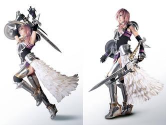 Final Fantasy XIII-2 Lightning Farron Cosplay by Fantalusy