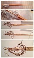 Final Fantasy XV Stella Nox Fleuret's Sword by Fantalusy