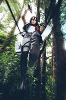Attack on Titan Mikasa Ackerman Cosplay by Fantalusy