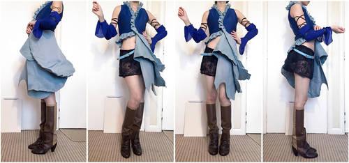 Final Fantasy X-2 Songstress Yuna Costume by Fantalusy