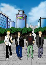 Manga studio SD by Dijenek