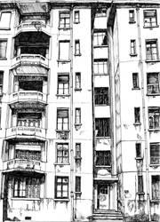 immeuble lyonnais by Phiip