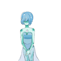 Blue Pearl by KawaiiLuxray
