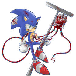Blood transfusion Sonic by ka1513-2
