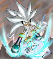 Silver the Hedgehog01 by ka1513-2