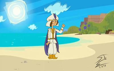 Shawn as Walt Disney's Aladdin by SnakeTeeth12