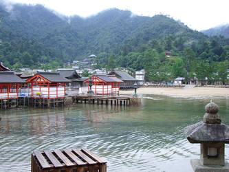Finally, Itsukushima-jinja by sidenpryde