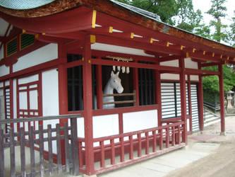Kneel Before Horse - Itsukushima 03 by sidenpryde