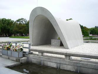 Hiroshima - Memorial Cenotaph by sidenpryde