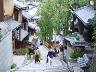 Kyoto Street by sidenpryde