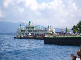 Castle Boat by sidenpryde