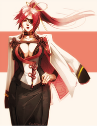 Guilty Gear | Baiken by lightning-seal