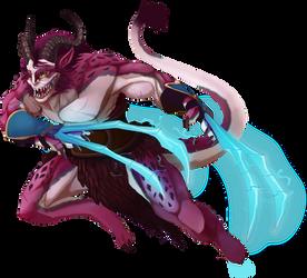 Draken gladiator by Kaelu-Mae