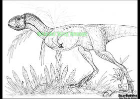DINOSAURUS: Xenotarsosaurus by SizzyBubbles