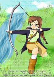 THG: Katniss by 5h1n1ngk1tt3nfur