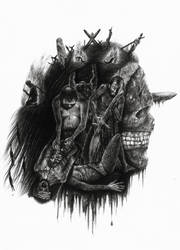 Creativity and Cruelty by dwarfeater