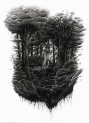 Fallow Deer Spirit by dwarfeater