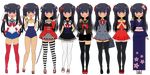 nome (outfits + bio) by porcyy