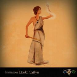 Catlyn from Homeron Etark by FrancescoGiuffrida