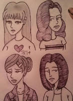Daria Doodles 2 by TwiztidTiya