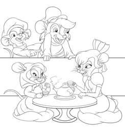 Tea time by Foxbeast