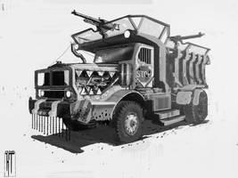 Apocalypse truck design 1 by porojj